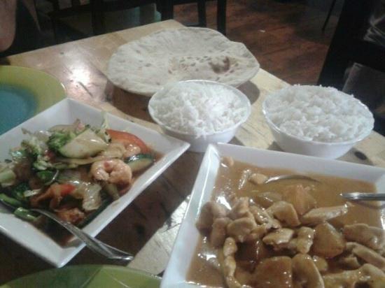 Restaurante Fantastico: thai and hindu food