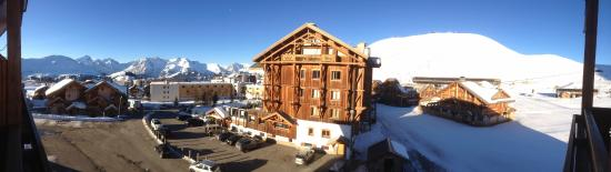 Hotel Beausoleil : View from Balcony