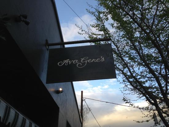 Ava Gene's: Sign