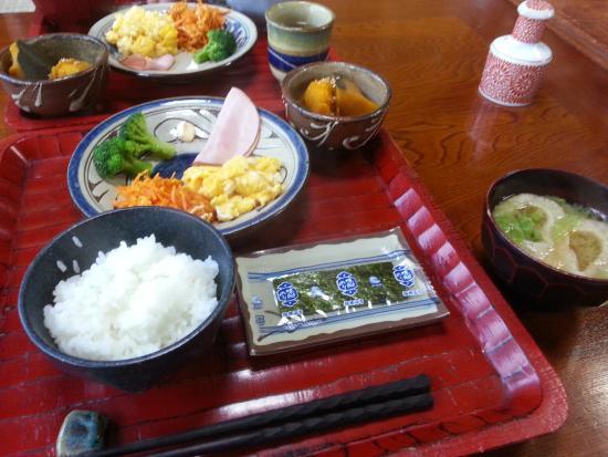 Minshuku Izumiya : 朝食