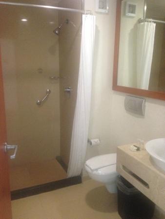 Hotel Magic Express: baño