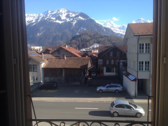 Residence Jungfrau: View von window