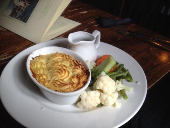 Odstock, UK: The wife loved the shepherds pie