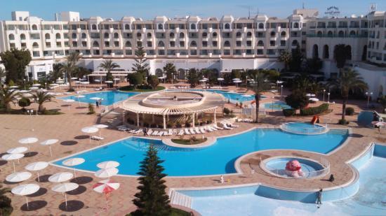 El Mouradi Hammamet: piscine