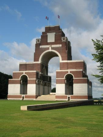 Ross-on-Wye, UK: Thiepval Memorial to the Missing of the Somme