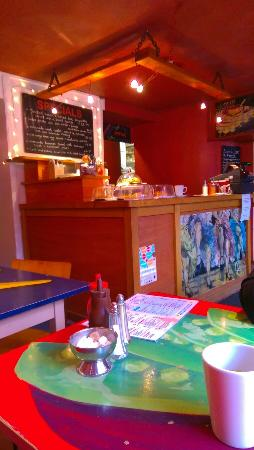 Caffi Caban-y-Pair: Inside the Cafe