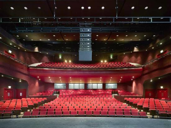The Interior Of The Theatre Picture Of Curve Theatre Leicester Tripadvisor