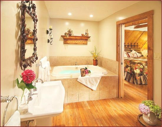 J. Palen House Bed & Breakfast: One of our Spa Baths
