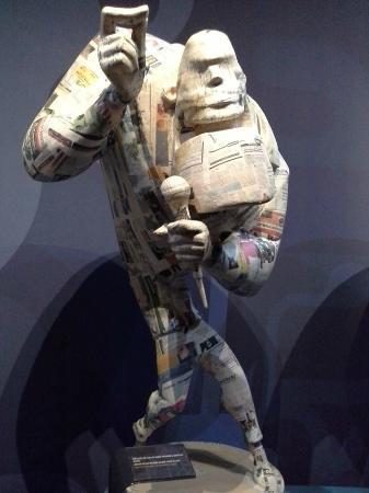 Museu Faller of Gandia : prepartions manequin