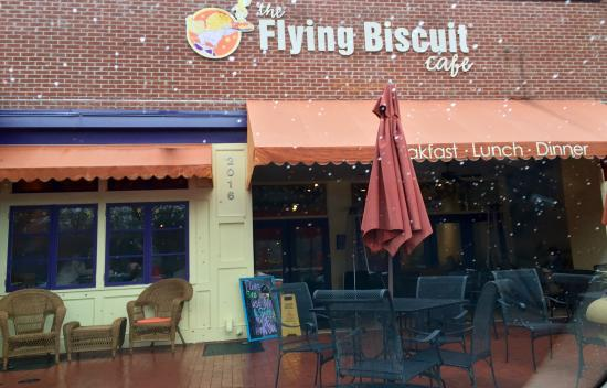 The Flying Biscuit Cafe: Great place for breakfast in Raleigh, NC