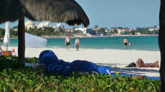 Amarte Hotel : Maroma beach north view