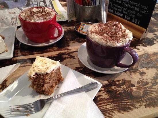 Java Coffee Shop: luxury hot chocolate