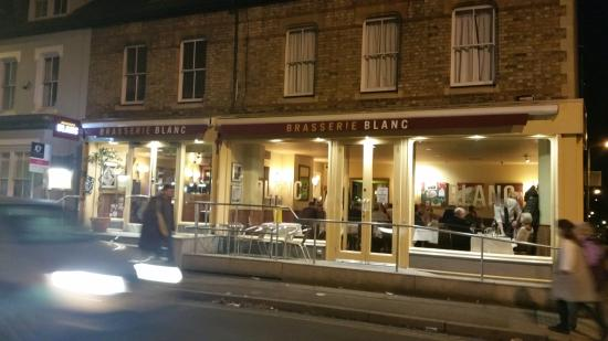 Brasserie Blanc: Outside View