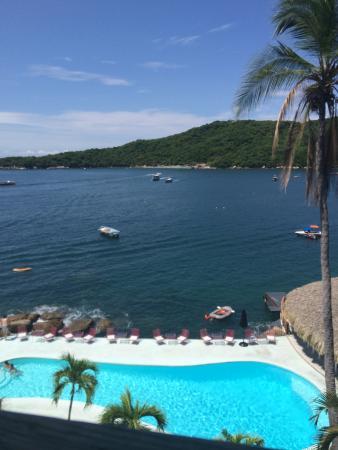 Boca Chica Hotel : Vista de la Isla la Roqueta desde la habitación.