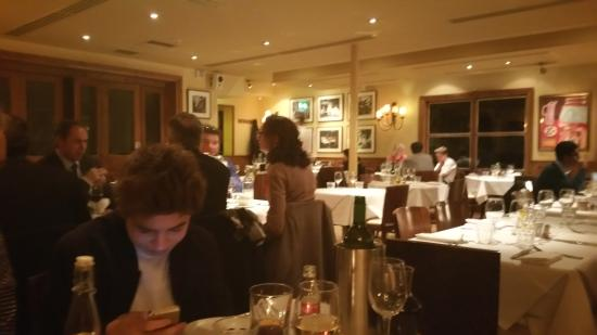 Brasserie Blanc: inside the restaurant