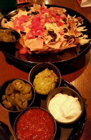 Tilted Kilt Pub & Eatery: Beef Nachoes