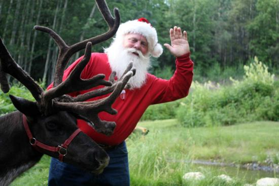 Running Reindeer Ranch: We get some pretty important guests