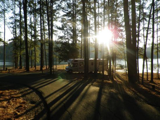 Sunrise - Lake Claiborne state park - Picture of Lake ... on louisiana grand isle state park map, louisiana state map cities, louisiana chicot state park map, louisiana purchase state park arkansas,