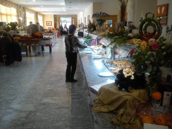 Hotel la Rapita: Comedor.