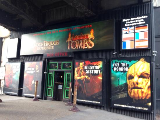 ‪The London Bridge Experience and London Tombs‬