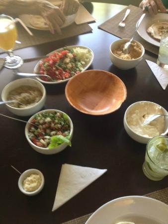 Al Nur: Alguns pratos da rodada