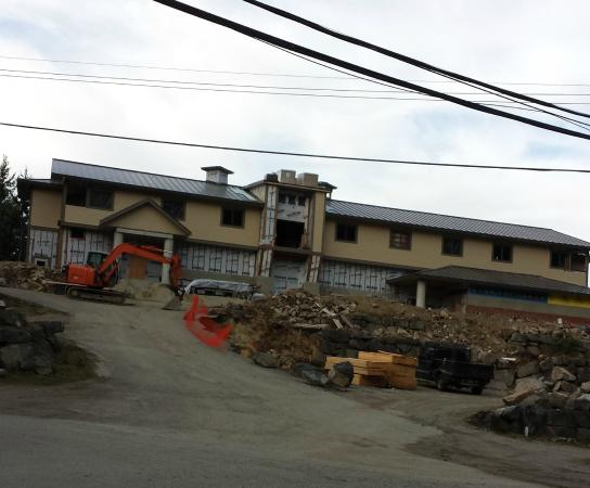 Rebuilding The Grasshopper, Pender Harbour Hotel