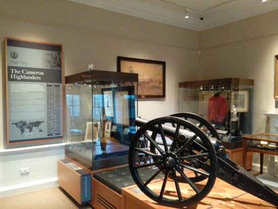 The Highlanders' Museum (Queen's Own Highlanders Collection): Foto interna