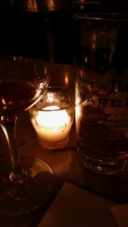 Mateo Bar De Tapas : Soft lighting & great wines & beers.