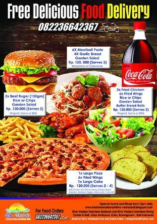 Dive-Versions Restaurant: Dive-Versions Food Delivery