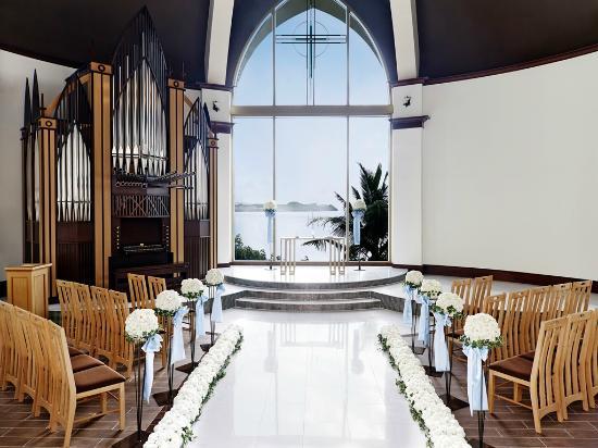 """Lotte Hotel Guam: Wedding Chapel """"Aqua symphony Chapel"""""""