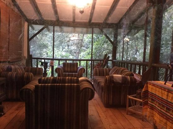 Guango Lodge: Common area