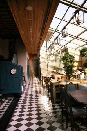 Holiday Inn Express Beijing Wangjing: Restaurant & Cafe