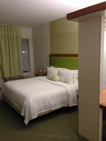 SpringHill Suites Houston Intercontinental Airport : Comfortable bed