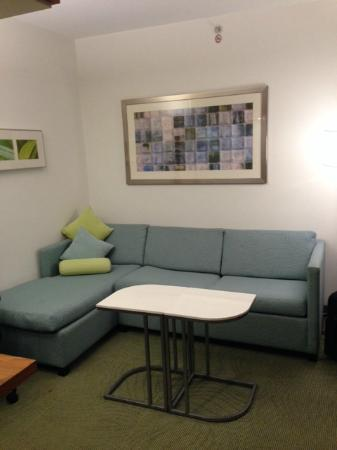 SpringHill Suites Houston Intercontinental Airport : Comfortable seating area