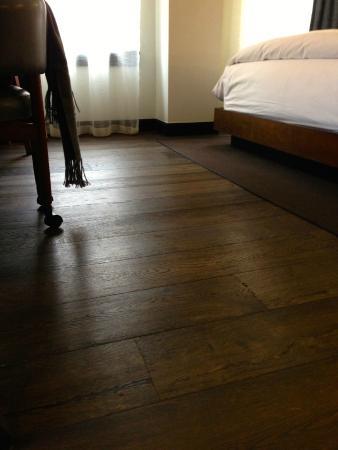Refinery Hotel Beautiful Dark Wood Floors