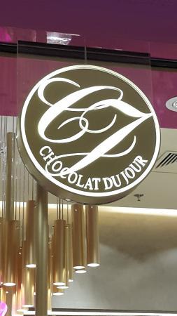 Chocolat du Jour: Logomarca da loja