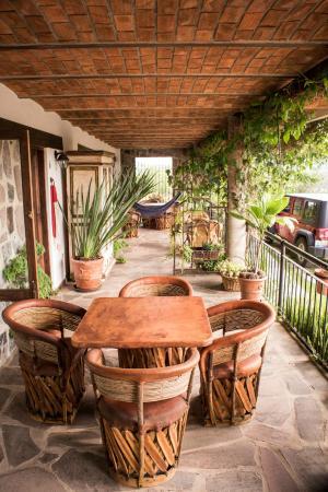 Villa Cassis: Terraza Suite Mini