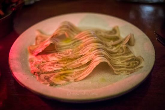 ‪‪Tosca Cafe‬: Pressed Pig Ear‬