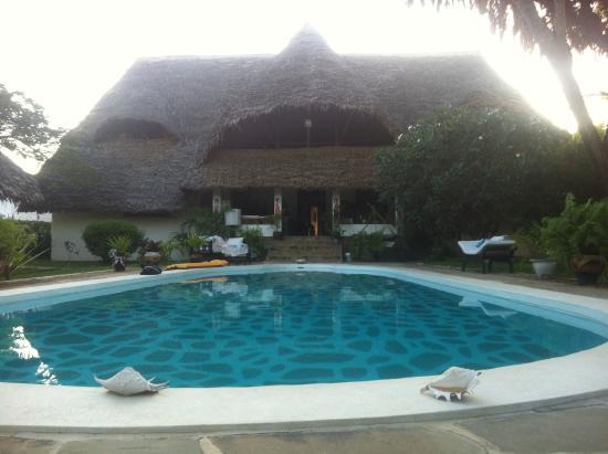 Luna House Malindi: la piscina