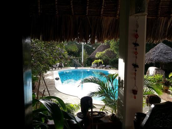 Luna House Malindi: dal patio