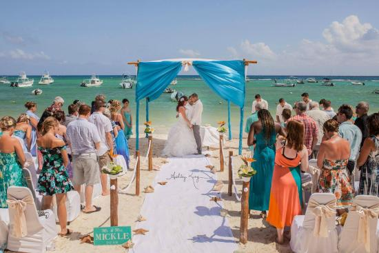 The Reef Coco Beach Wedding