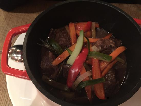 Bergamote : Yummy beef and vegetables.