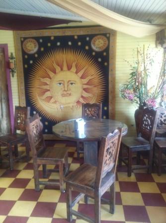Hotel Casa Antigua: Sitzgelegenheit Innenraum