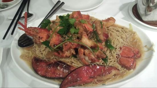 London Chinese Restaurant Lobster Noodle