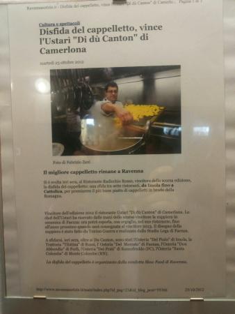Ustari di du Canton : Cappelletti da non mancare...