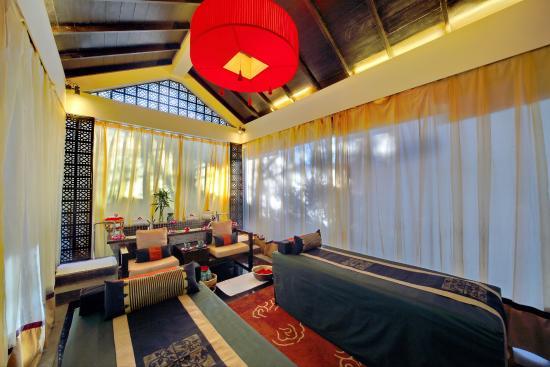 Banyan Tree luxushotel nachtbeleuchtung china