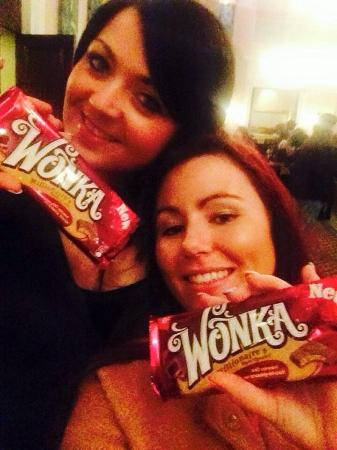 Wonka Bars With Golden Tickets Of Course Picture Of Charlie And