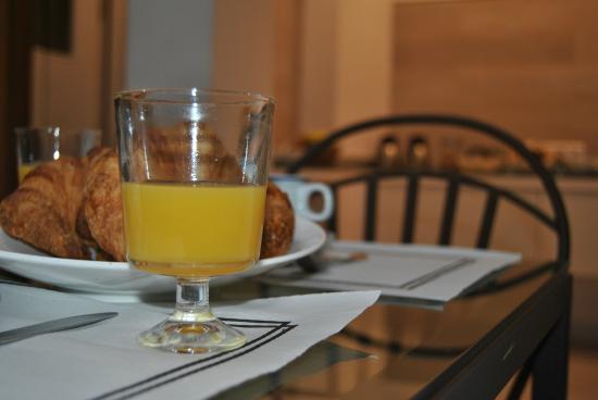 Hostal San Lorenzo : Desayuno (opcional)