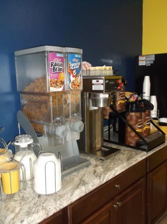 McGraw, estado de Nueva York: Café et céréales