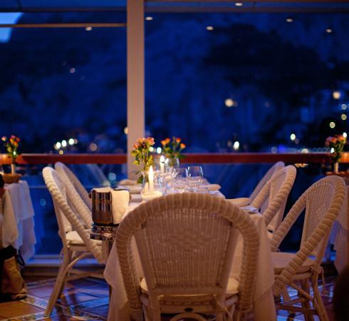 Sala Ristorante Villa Brunella Capri - Picture of Terrazza Brunella ...